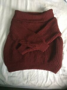 Ladies Size L New Look Thick Warm Winter Jumper. Good Condition.