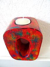 Große Shabby Chic Holz Buchstabe **O** als Teelichthalter Dekoration Geschenk