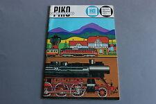 X390 PIKO Train modellbahnHo1980 54 pages 30*20,8 cm Deutsch Katalog demusa