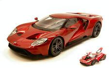 Ford GT 2017 Metallic Red Series 1 18 Model 38134r Maisto