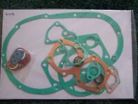 814B TRIUMPH 500cc 5TA SPEED TWIN T100A T100SS TIGER ENGINE GASKET SET