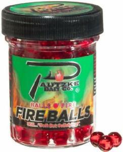 Pautzke Fire Balls Salmon Eggs Jar Fishing Bait Red Biodegradable