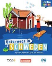Lextra junior - Schwedisch - Unterwegs in Schweden / Selbstlernbuch mit Hör-CD …