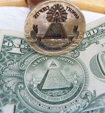 Wax  Seal masonic    stamp brass