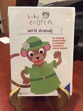 Baby Einstein: World Animals (DVD, 2002) Mfg. Sealed