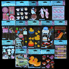 Jolees HUGE Stickers LOT BABY GIRL FRAMES MONKEY DUCKY BIRTHDAY PLAYPEN 15 PACKS