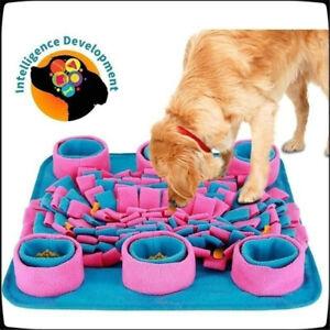 Pet Snuffle Mat Dog Puppy Slow Feeding Interactive Training Foraging Washable UK