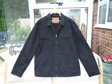 Men's levi's black denim jacket large - NEW WITHOUT TAGS