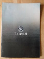 JAGUAR XJ 5.3 V12, 4.2 & 3.4 Saloons orig 1978 UK Mkt prestige Sales brochure