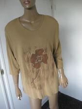 Bonita toller Pullover XL 46/48  beige 3/4 Arm