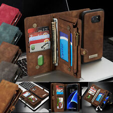 F Samsung Galaxy NOTE 8/S7/S8+ Leather Case Removable Wallet Magnetic Flip Cover