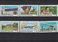 republique togo laise aircraft mint never hinged  stamps  ref 7209