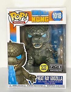 Funko Pop Godzilla vs Kong Heat Ray Godzilla FYE Exclusive Glow In The Dark