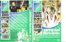 IRB:Rugby World Cup:2003-Official Review-Rugby-DVD