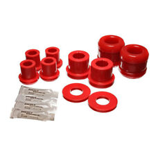 Energy Suspension Control Arm Bushing Kit 11.3107R; Red for 2004-2007 Mazda RX-8