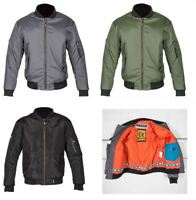Spada Summer Air Force 1Textile Breathable Jacket For Motorcycle Motorbike