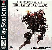 FINAL FANTASY ANTHOLOGY PS1 PLAYSTATION 1 DISC ONLY