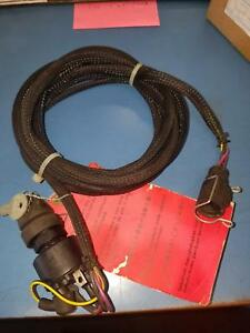 omc/ brp ignition switch and harness