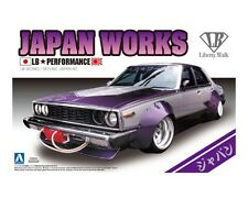 Aoshima 1/24 Nissan Japan Works Skyline LB Performance PLASTIC MODEL KIT 0980