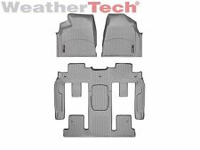 WeatherTech Car FloorLiner for Traverse/Acadia/Enclave- 1st/2nd/3rd Row - Grey