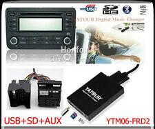 Yatour Digital CD changer for new Ford quadlock Fakra 12pin 6000CD 6006CDC 5000C