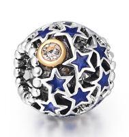Unique Presents Design Best Silver Bead Charm fit 925 Sterling European Bracelet