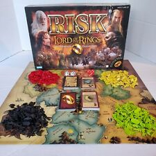 RISK Lord of the Rings Middle Earth Conquest Game Parker Brothers