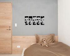 One Direction Caras Niños Infantil Adhesivo para dormitorio pared imagen