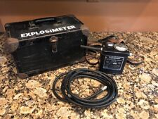 NICE VINTAGE MSA EXPLOSIMETER MINING SAFETY COMBUSTIBLE GAS INDICATOR MODEL 2A