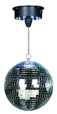 IBIZA DISCO1-20 DISCOLIGHT SET SPIEGELKUGEL 20CM LED MOTOR PARTY DISCO CLUB DJ