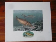 South Carolina Saltwater Fish Prints, Signed &  Remarqued Editions (1992-1996)