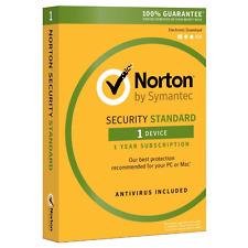Norton Security Standard Genuine License 1pc 1year Canada-USA * Antivirusdepot *