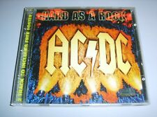 AC/DC - Hard As A Rock German 1995 East West CD + poster PROMO STICKERED