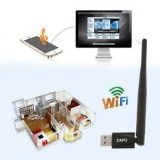 Wireless USB Bluetooth4.0 WiFi Adapter Dual Band Dongle Network LAN Card Antenna