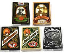 Jack Daniel's Whiskey USA Spielkarten Karten Kartenspiel Playing Cards