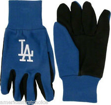 Los Angeles Dodgers Blue with Team Logo Licensed MLB Sport Utility Gloves-New!