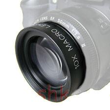 58mm +10 Close up Macro Lens for Canon T5 SL1 T5i T4i T3i T3 T2i T1i EF-s 18-55