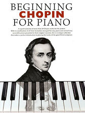 Beginning Chopin For Piano Learn to Play EASY CLASSICAL Sheet Music Book