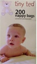 200 SCENTED NAPPY BAGS Convenient & disposable For Baby Nappy Changing Time