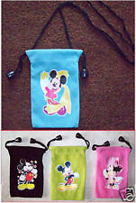 MICKEY MOUSE  MOBILE PHONE MP3 MP4  POUCH Cover Bag NEW