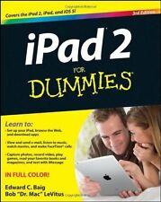 iPad 2 For Dummies, LeVitus, Bob,Baig, Edward C., Good Book