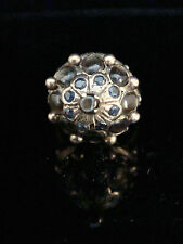 Sapphire Yellow Gold Ring Retro Fine Jewellery (1940s)