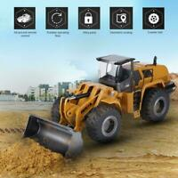1:14 HUINA 583 2.4G Electric RC Model Bulldozer Engineering Excavator Kids Gift☆