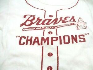 Vintage 1957 Milwaukee Braves Children's- World Series T-Shirt