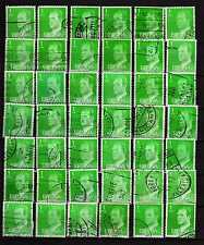 España : 1977 ( Edifil 2390 ) Lote 42 sellos 1 Peseta JUAN CARLOS I ( usados )