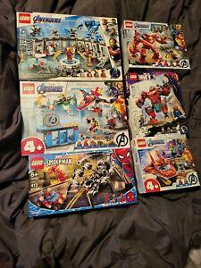 LEGO Marvel Avengers Iron Man Hall of Armor 76125 76152 76164 76170 76163 76194