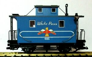 LGB 4065 W03 LIMITED EDITION WHITE PASS CABOOSE