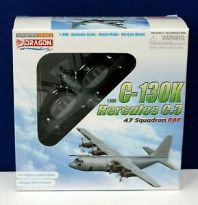 Dragon 56279  C-130K Hercules C.3 47 Squadron RAF 1:400 w/ stand MIB