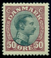 DENMARK #121 9154) 50ore Chr. X, og, NH w/a few offset specks, VF, Facit $210.00