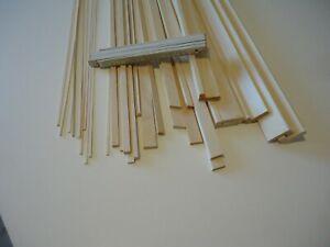 ca. 30 Stück Fichte div. Reste 100cm lang Holz Leiste Modellbau